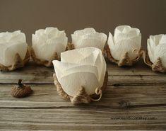 Matrimonio rustico Decor piccolo tavolo fiori  Set di di VENDecor