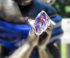 'Amethyst Ring Size 7' is going up for auction at  9am Mon, Jun 18 with a starting bid of $5.