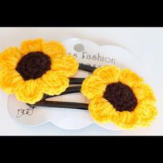 Sun Flower Hair Accessories in Japanese Style  #sunflowers #yellow #japan #korea #tokyo #fashion #flower - @orashops- #webstagram