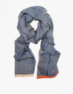 Love a good scarf ... yummy cashmere and wool, love the stripes with the alternating tips.