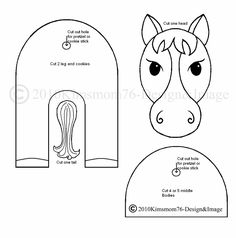 3-D Farm Animal Pattern and Template — Sketches & Patterns & Templates