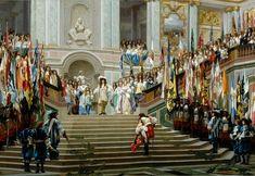Grand Condé's reception in Versailles by Jean-Léon Gérôme
