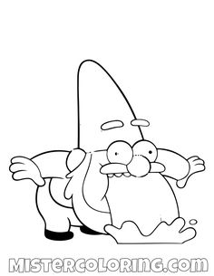 Gnome Vomiting Rainbow Gravity Falls Coloring Pages For Kids Fall Canvas Painting, Cute Canvas Paintings, Autumn Painting, Autumn Art, Cute Disney Drawings, Cartoon Drawings, Cute Drawings, Coloring For Kids Free, Fall Coloring Pages