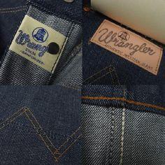Wrangler (Wrangler) Real Vintage 52 модели джинсов 11MW денима 7