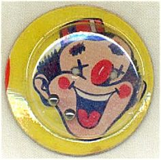 Prize~ Move it around carefully to get the two marbles in the eyes of the clown.