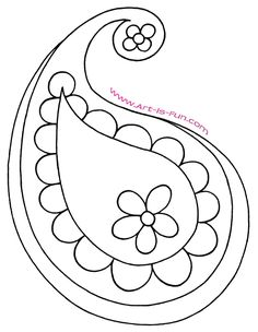 Learn how to draw paisley step by step - # LEARN Learn how to draw paisley step by step – draw Motif Paisley, Paisley Art, Paisley Design, Beaded Embroidery, Embroidery Stitches, Embroidery Patterns, Hand Embroidery, Drawing Lessons, Art Lessons