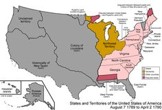 Animated GIF of the Formation of the United States, 1790-1960. Moves too fast but is REALLY cool.