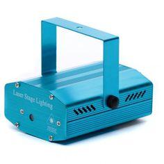 f9ce1b809ad Proyector Laser Luces de Navidad color azul de temática navideña para uso  interior