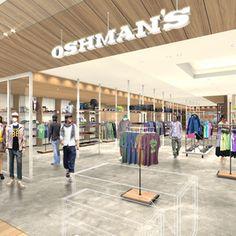 オッシュマンズが名古屋の新商業施設タカシマヤ ゲートタワーモールに出店