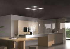 Perfect for open plan kitchens, this ceiling and cassette rangehood is hidden, silent and efficient. #rangehood