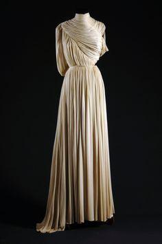 La Fiancée de la Nuit | lelaid: Dress by Madame Grès, 1930′s