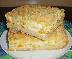 Streuselkuchen mit Mandarinen und Schmand, ein schönes Rezept aus der Kategorie… Crumble cake with tangerines and sour cream, a nice recipe from the category fruit. Sweet Recipes, Cake Recipes, Snack Recipes, Snacks, German Baking, Gateaux Cake, Fall Desserts, Sweet Cakes, Ice Cream Recipes