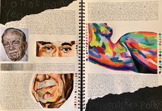 A Level Art Sketchbook Layout, Gcse Art Sketchbook, A Level Textiles Sketchbook, Sketchbook Ideas, Art Journal Inspiration, Art Inspo, Human Anatomy Art, Art Alevel, Pastel Art