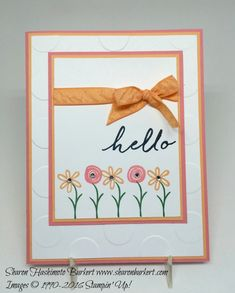 Peekaboo Peach and Flirty Flamingo and the Swirly Bird set