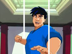 """The main character was named Jackie and based on the real Jackie Chan. 18 Reasons Why """"Jackie Chan Adventures"""" Was The Best Cartoon Of Your Childhood Jackie Chan, Gifs 3d, Cartoon Of Yourself, Fox Kids, Cool Cartoons, Cartoon Fun, The Wb, Music Tv, Best Funny Pictures"""