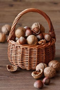 Food styling photography Basket of Nuts (organic chocolate food) Fruit Photography, Food Photography Styling, Food Styling, Autumn Photography, Organic Chocolate, Chocolate Food, Fall Harvest, Food Art, Holiday Recipes