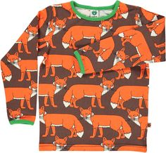 Smafolk Foxes Top