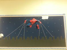 spiderman bulletin boards | Spider-Man bulletin board