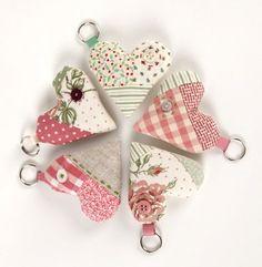handmade heart fabric felt - Pesquisa Google