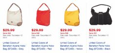 Best Buy: Save up to $61 on United Colors of Benetton bags/totes + get a FREE VIVA kit (value $15)