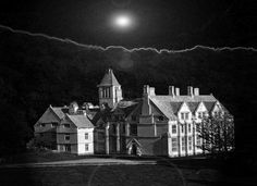 Woodchester Mansion is said to be one of the most haunted buildings in all of England. There have been hundreds of sightings, and photos and videos abound to support the hauntings.