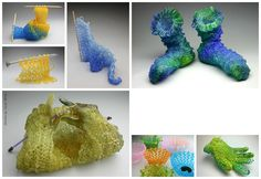 The knit glass artworks of Carol Milne... article from Twist e-magazine.jpg