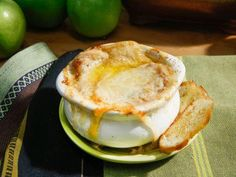 """French Onion Soup (Winter Lodge) - Geoffrey Zakarian, """"The Kitchen"""" on the Food Network."""