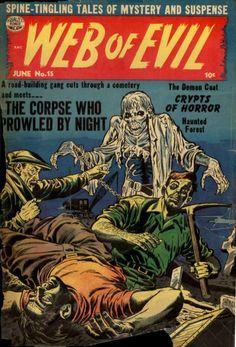 Comic Book Cover For Web of Evil v1 #15