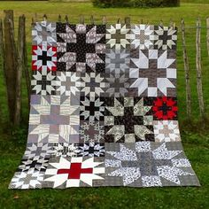 Mrs Sew and Sow.....Star Plus Quilt