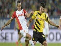 Borussia Dortmund 3-0 öne geçtiği Augsburg'u 3-2 yenebildi