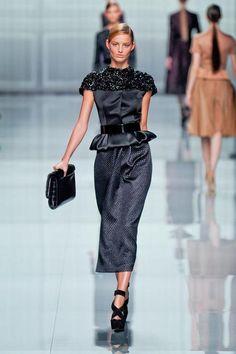 Christian Dior Paris Fashion Week Fall 2012