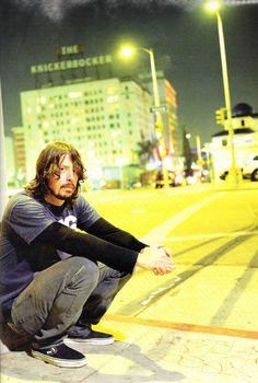 Dave Grohl of Foo Fighters That photo makes me feel happy memories from HB days in early 90s I miss that generation