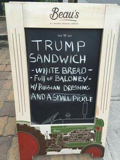 #trump #trumpsandwich