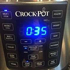 Amazon.com: Crock-Pot Express Crock Programmable Multi-Cooker, Stainless Steel (SCCPPC600-V1): Kitchen & Dining