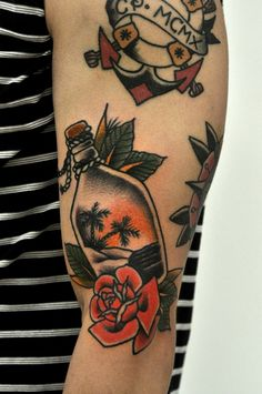 Rose tatouage signification tatouage traditionnel américain
