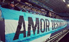 Amor descontrolado /  Grêmio / torcida / futebol