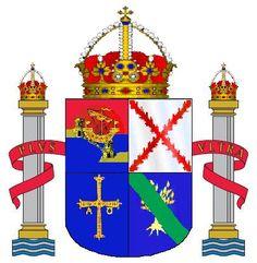 Escudo de Asturias.