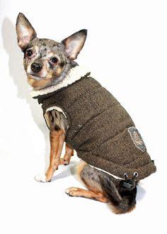 Shop where every purchase helps shelter pets! Hip Doggie Herringbone Dog Vest - Herringbone - from $33.99