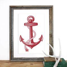 screen print anchor