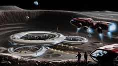 Moon Base Alpha by JonHrubesch.deviantart.com on @deviantART