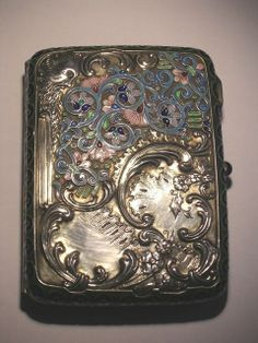 Old cigarette cases