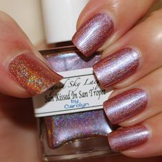 Liquid Sky Lacquer Sun Kissed in San Tropez (The Holo Grail Box by Dazzled - June 2014)