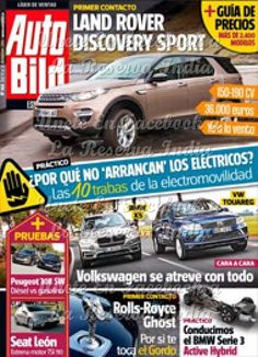 Auto Bild España – 19 Diciembre 2014 Auto Bild España – 19 Diciembre 2014 PDF, EPUB | Español DESCARGA GRATIS COMO PREMIUM AQUÍ : http://xurl.es/5cbzs Unete con nosotros en FACEBOOK a La Reserva...