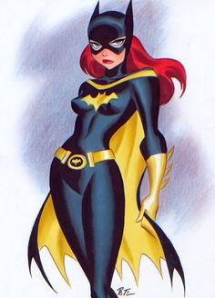 Batgirl by Bruce Timm