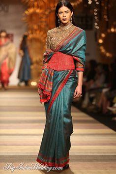 Tarun Tahiliani designer saree collection #WIFW