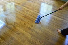 How To Rejuvenate Your Hardwood Floors Without Stripping Them - this post shows how to remove the dulling build up + how to get them to shine.