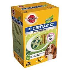 Animalerie  Pedigree Dentastix Fresh 28 Packs (Pack Size: Medium Dog)