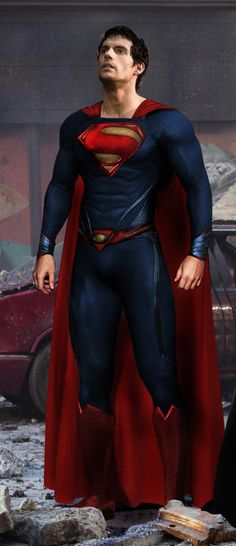 The MAN OF STEEL - I never get tired of him...