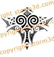 tribal skulls tattoos maori polynesian back tattoos