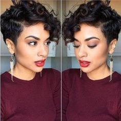 Pretty-Pixie-Hairstyles-for-Curly-Bangs-Chic-Curly-Short-Hairstyles